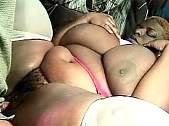 Ebony with fat tempting body nailed