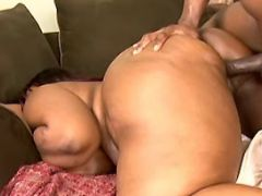 Fat ebony whore fucked by black guy