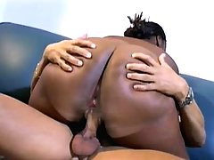 Experience with alluring fat ebony
