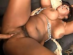 Adventure with black overweight slut